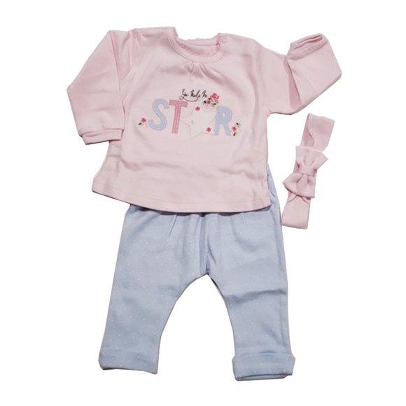 100% Cotton Idil baby star girls set